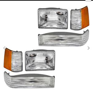 Grand Jeep Cherokee 1993-1996 Headlights 6 Pc Park Signal Lamp & Side Marker Set for Sale in MONTGOMRY VLG, MD