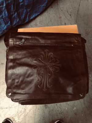 Leather messenger bag for Sale in Washington, DC