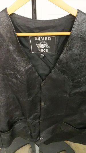 XXL Men's Genuine Leather Biker Vest for Sale in Las Vegas, NV