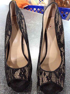 Black lace heels for Sale in Biscayne Park, FL