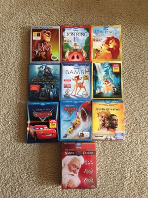 New Disney Blue Ray/DVD Movies for Sale in Chesapeake, VA