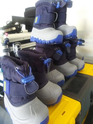 Lot of BRAND NEW kids snow boots for Sale in Crest Hill, IL