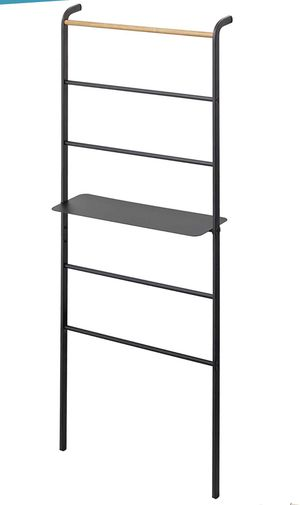 Yamazaki Leaning Ladder with Shelf (black) for Sale in Los Angeles, CA