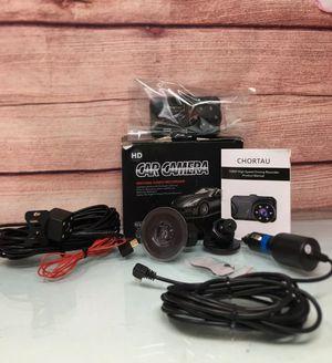 Dash Cam Front and Rear CHORTAU Dual Dash Cam 3 inch Dashboard Camera 170° Wide for Sale in Garden Grove, CA