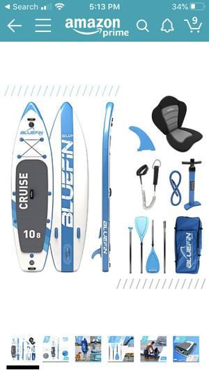 Blue Fin inflatable paddleboard for Sale in Walnut Creek, CA