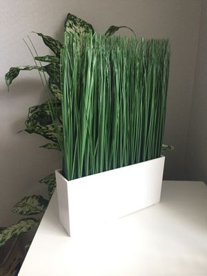 IKEA tall grass fake plant for Sale in Houston, TX