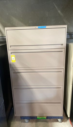 "Hon 700 series 5 drawer 36"" wide lateral file cabinet for Sale in Wildomar, CA"