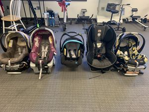 Variety of Baby Carriers/Carseats (priced individually) for Sale in Richmond, VA