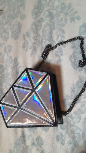 Holographic Diamond purse for Sale in Madison, ME