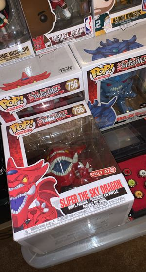 Obelisk and slifer the sky dragon funko pops for Sale in Duncanville, TX