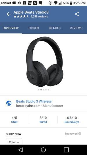 Apple beats studio3 for Sale in Wichita, KS
