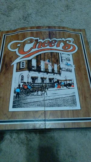 Cheers dart board for Sale in Cleveland, OH
