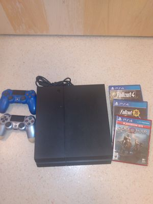P S 4 - 2 controllers- 3 games for Sale in Maple Valley, WA