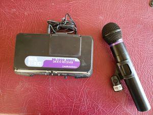 Audio Technica cordless microphone complete for Sale in Phoenix, AZ