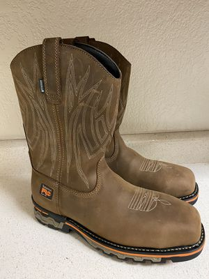 Men's Timberland Pro AG Boss Square Alloy Tor Pull-On Work Boots for Sale in San Jose, CA