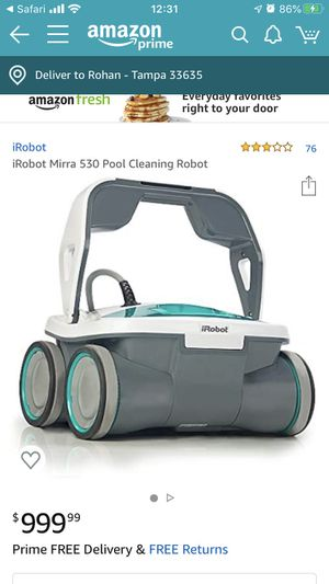 IRobot Mirra 530 pool cleaning for Sale in Tampa, FL