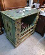 Beautiful antique wine cabinet for Sale in Coronado, CA