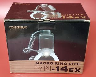 YongNuo TTL Macro Ring Lite Flash Light for Canon EOS DLSR Camera for Sale in San Diego,  CA
