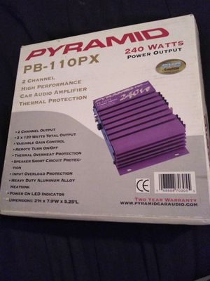 Pyramid amplifier for Sale in Fresno, CA