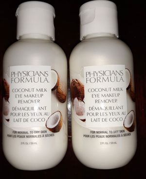 Physicians Formula Coconut Milk Eye Makeup Remover for Sale in Gilbert, AZ
