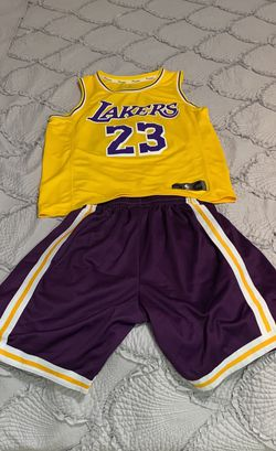 Lakers Jersey #23 James And Lakers Pants HardWood Classic for Sale in Fort Myers Beach,  FL
