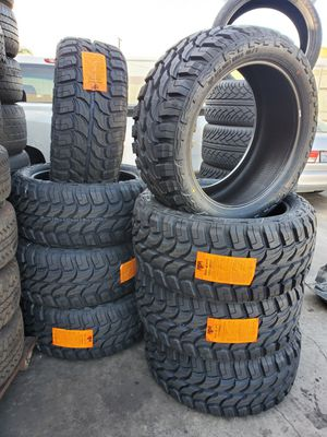 TIRES BRAND NEW LT 33X12.50R22 $790 SET OF FOUR INSTALL MOUNT AND BALANCE BEST PRICE ON TOWN for Sale in Anaheim, CA