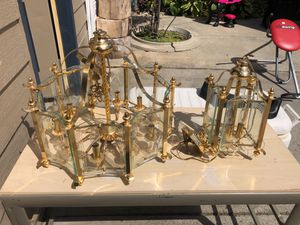 Light fixture for dinning room and hallway. for Sale in Cleveland, OH