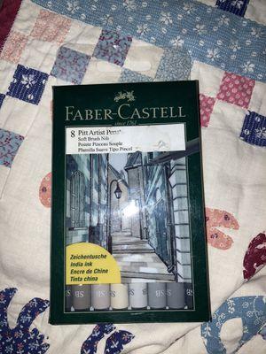 Fabre Castell grey brush pens for Sale in Phoenix, AZ