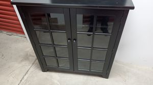 Cabinet with glass doors. Dining room for Sale in Roselle, NJ