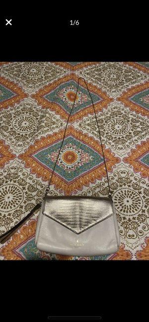 Kate spade white and gold leather shoulder bag/Crossbody/messenger bag for Sale in Claremont, CA