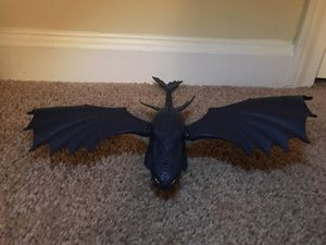 "How to Train Your Dragon 2010 Night Fury Toothless 14"" Action Figure RARE for Sale in Atlanta, GA"