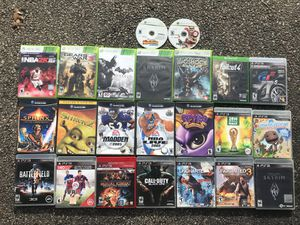 GAMECUBE, XBOX 360, PS3 GAMES for Sale in Boston, MA