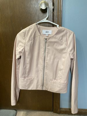 Pink leather jacket for Sale in Kansas City, MO