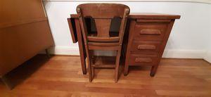Homeschool Antique Childs Desk & Chair for Sale in Norfolk, VA