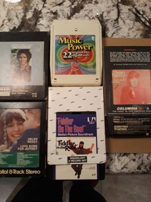 8-track tapes $20 for everything for Sale in Woodbridge, VA