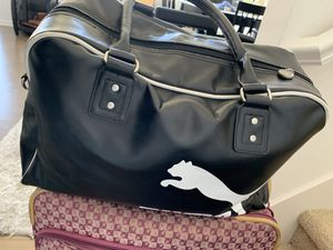 Puma pleather duffle bag - workout bag for Sale in Irvine, CA