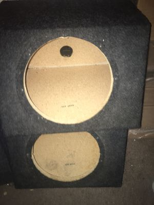 Speaker box's for Sale in Houston, TX