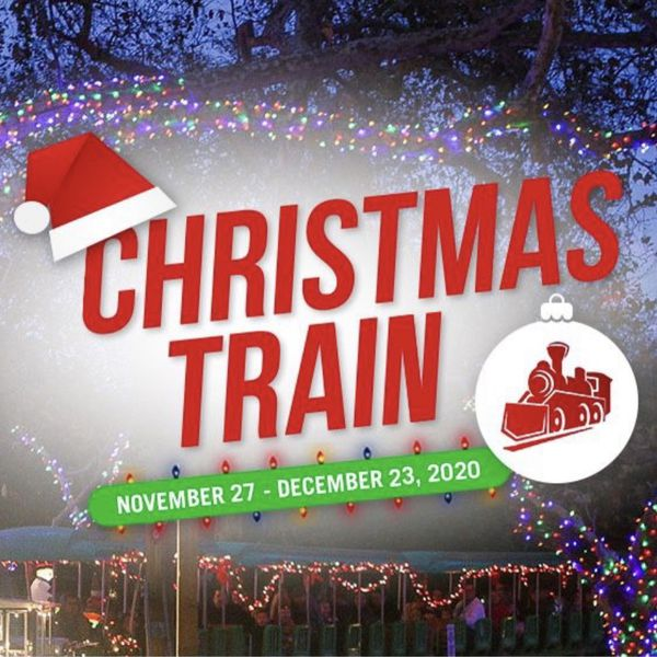 Irvine Park Christmas Train Ride Tickets! 11/28 1pm!