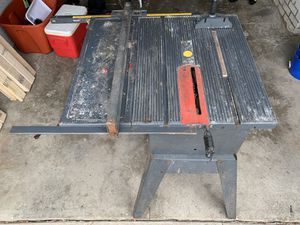 Craftsman table saw for Sale in Cleveland, OH