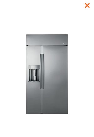 "Ge Profile Series 48"" Built in Side by Side Refrigerator with Dispenser for Sale in Norcross, GA"