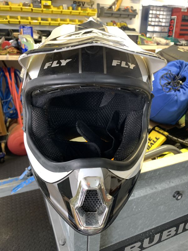 Youth Large FLY Motorcross Helmet