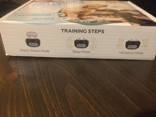 Advanced new with remote dog training collar