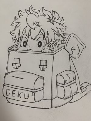 Deku Drawing | My Hero Academia for Sale in Castle Hills, TX