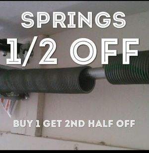 Any size spring for garage door for Sale in Cleveland, OH