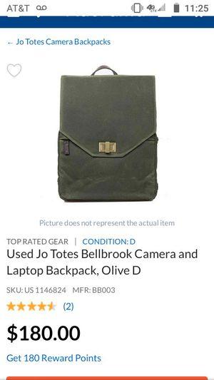 Johanson camera backpack for Sale in Dallas, TX