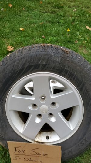 Jeep wrangler wheels for Sale in Bristol, CT