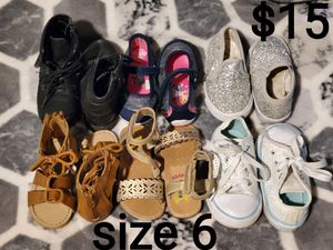 Toddler shoes size 6 for Sale in Fresno, CA