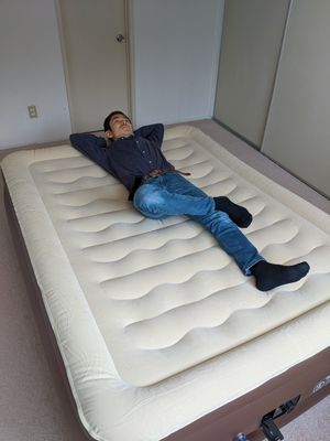 Amazon $99.99 / Brand new Air Mattress / Queen Size / Air Pump is included / good for camping, guest bed, etc for Sale in Torrance, CA