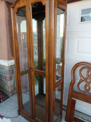 Display cabinet tall for Sale in Fontana, CA