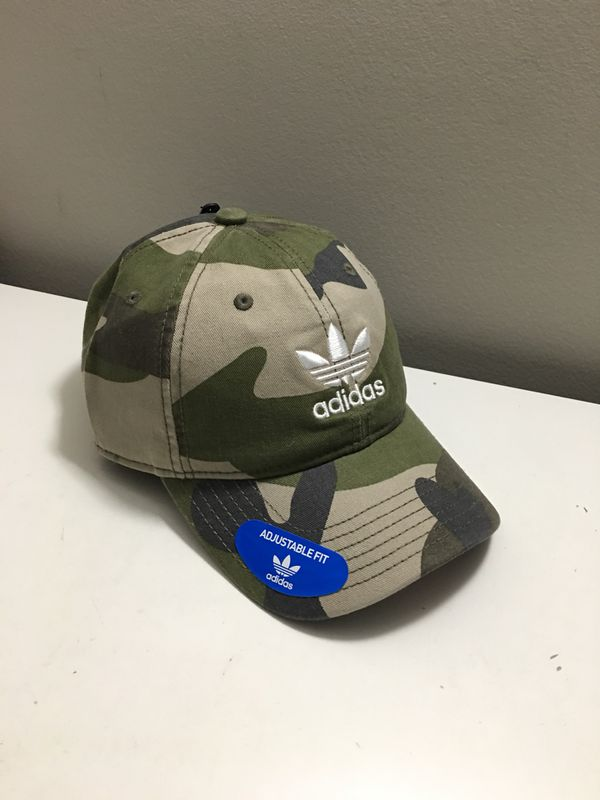 Adidas hat relaxed cap camp print adults unisex